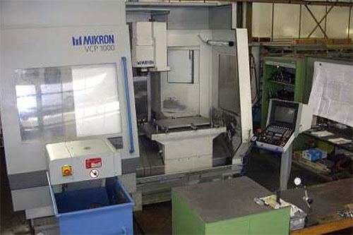 Fräsmaschinen Mikron